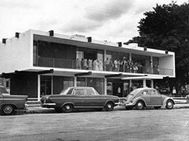 Sede da APM Regional no dia de sua inauguração, em 1968.